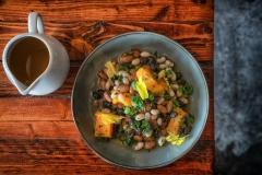 Beautiful bean dish